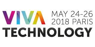 Logo de VivaTech 2018 qui se déroule à Paris