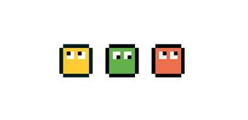 Image représentant les membres de l'incubateur Belle de Mai sous forme de Pixels
